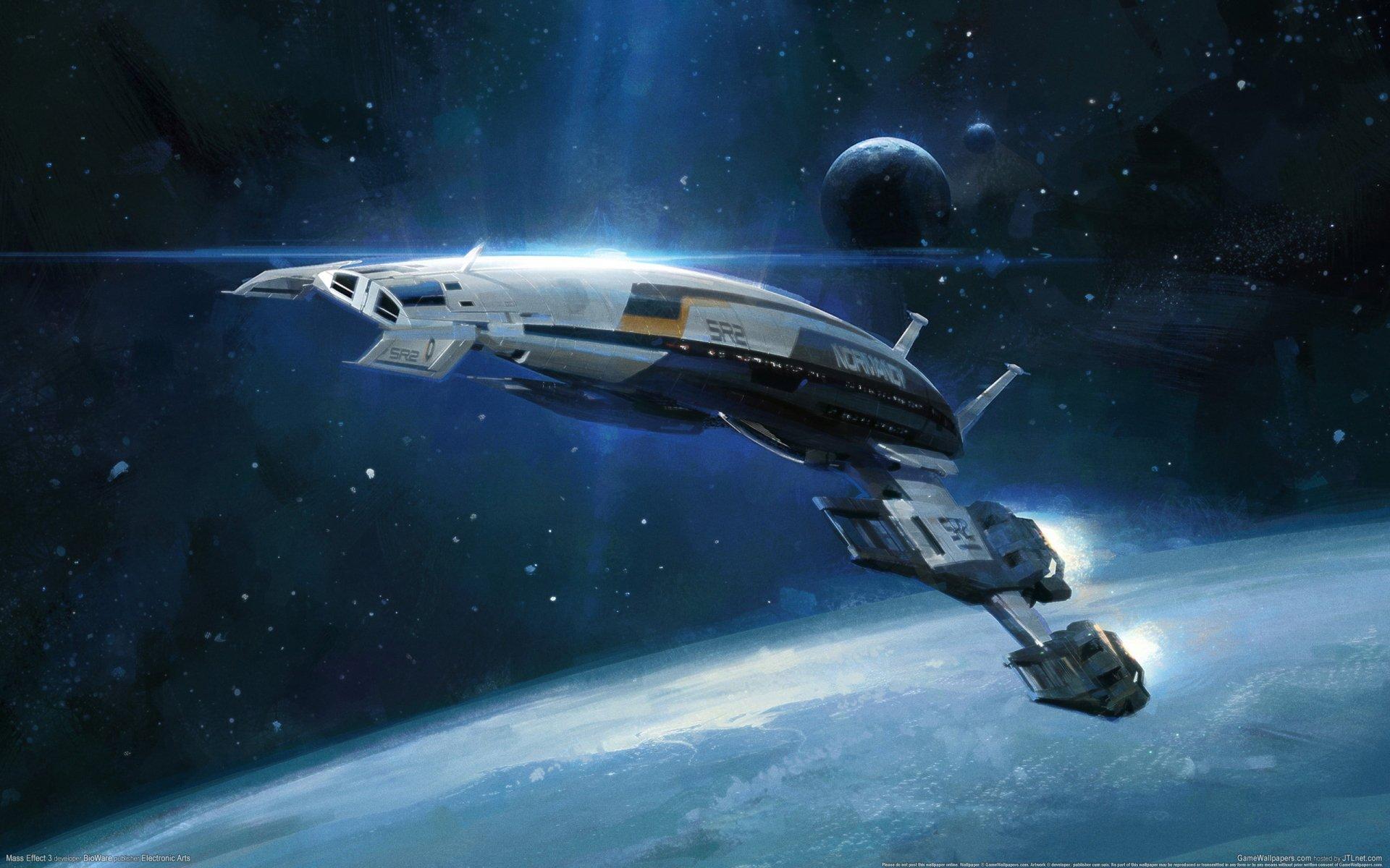 Video Game - Mass Effect 3  Mass Effect Normandy SR-2 Wallpaper