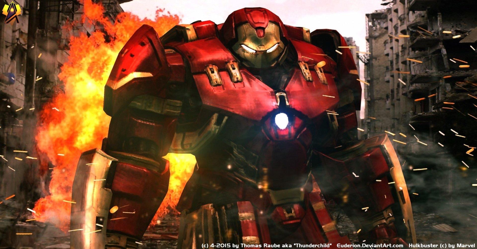 Movie - Avengers: Age of Ultron  Avengers Hulkbuster Armor Wallpaper