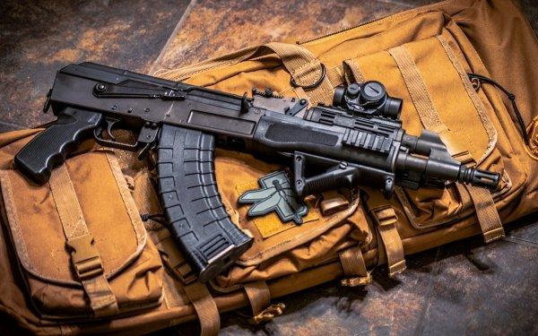 Weapons AKS-74U Machine Gun Military HD Wallpaper   Background Image