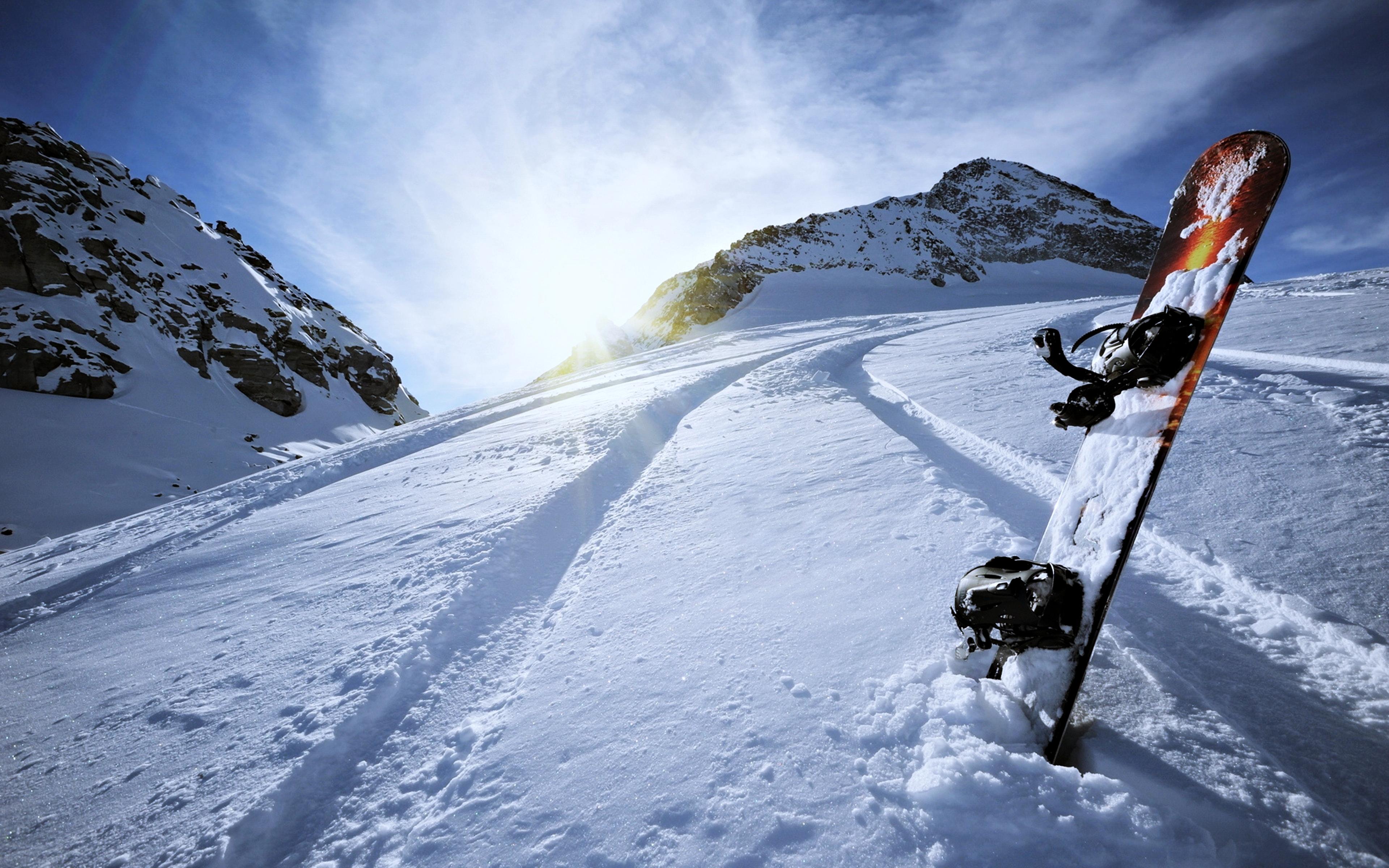 Snowboard 4k Ultra Fondo De Pantalla Hd Fondo De