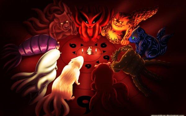 Anime Naruto Sage of Six Paths Kurama HD Wallpaper | Hintergrund