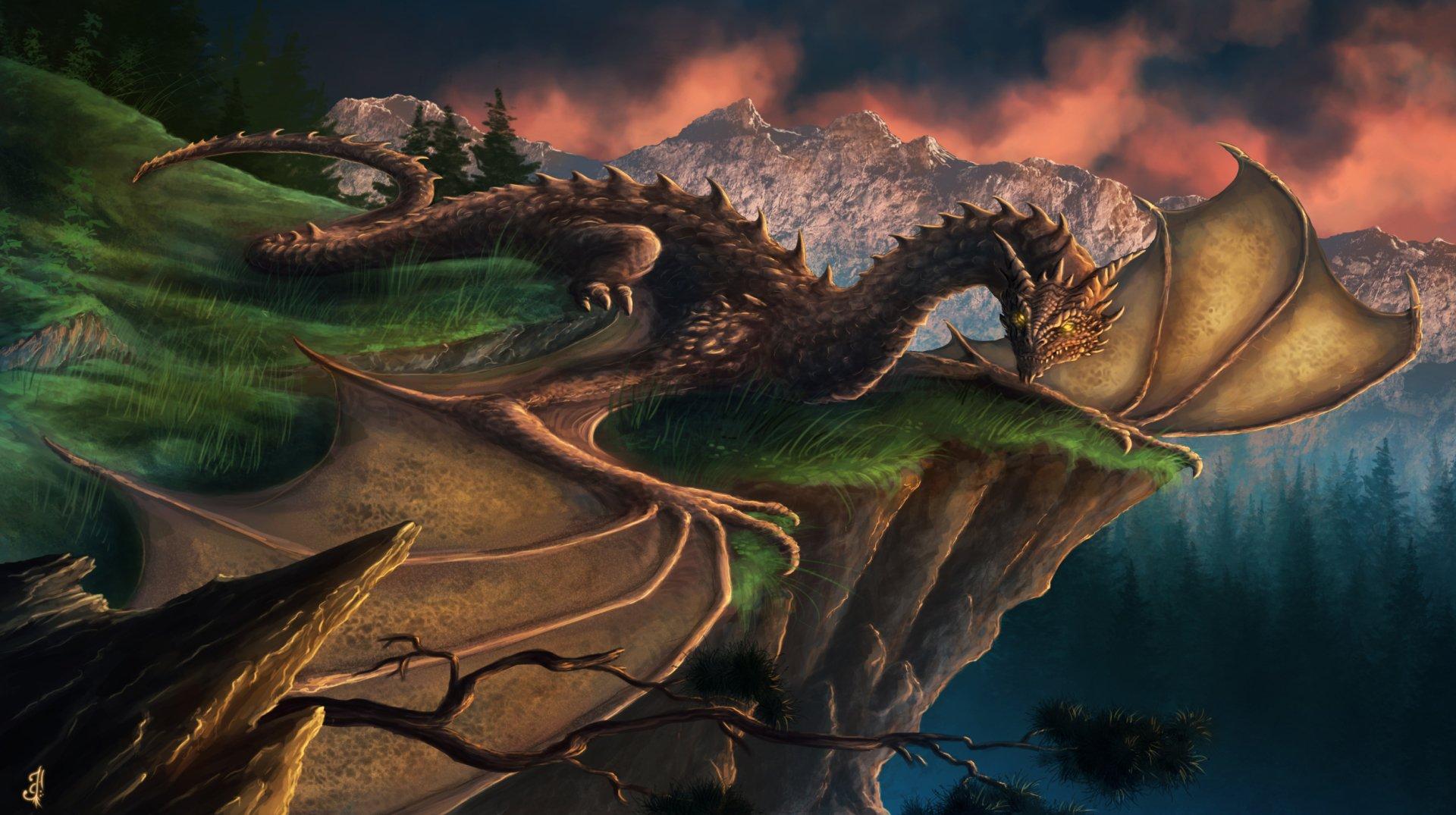 Dragon HD Wallpaper   Background Image   2500x1400   ID ...