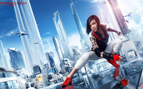 Video Game Mirror's Edge Catalyst Mirror's Edge Faith Connors HD Wallpaper | Background Image