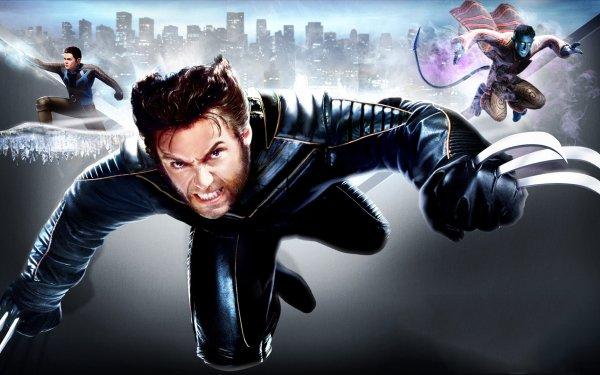 Video Game X-Men: The Official Game X-Men Wolverine Nightcrawler Iceman Bobby Drake Logan James Howlett HD Wallpaper | Background Image