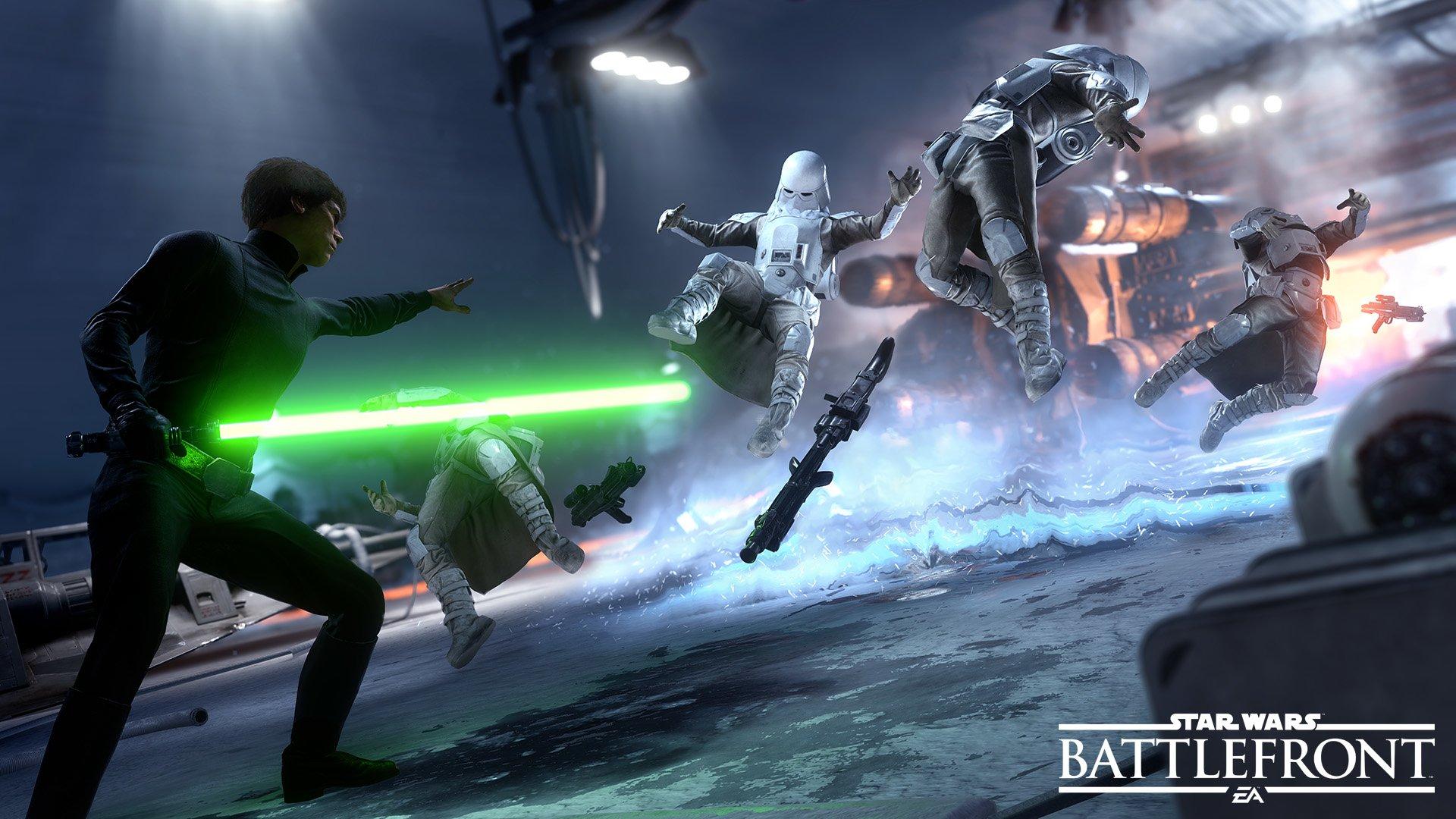Video Game - Star Wars Battlefront (2015)  Star Wars: Battlefront Luke Skywalker Wallpaper