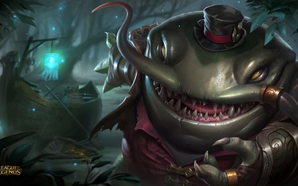 Video Game League Of Legends Tahm Kench HD Wallpaper | Background Image