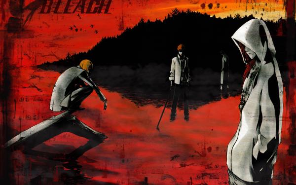 Anime Bleach Ichigo Kurosaki Ulquiorra Cifer Byakuya Kuchiki Shinji Hirako HD Wallpaper   Background Image