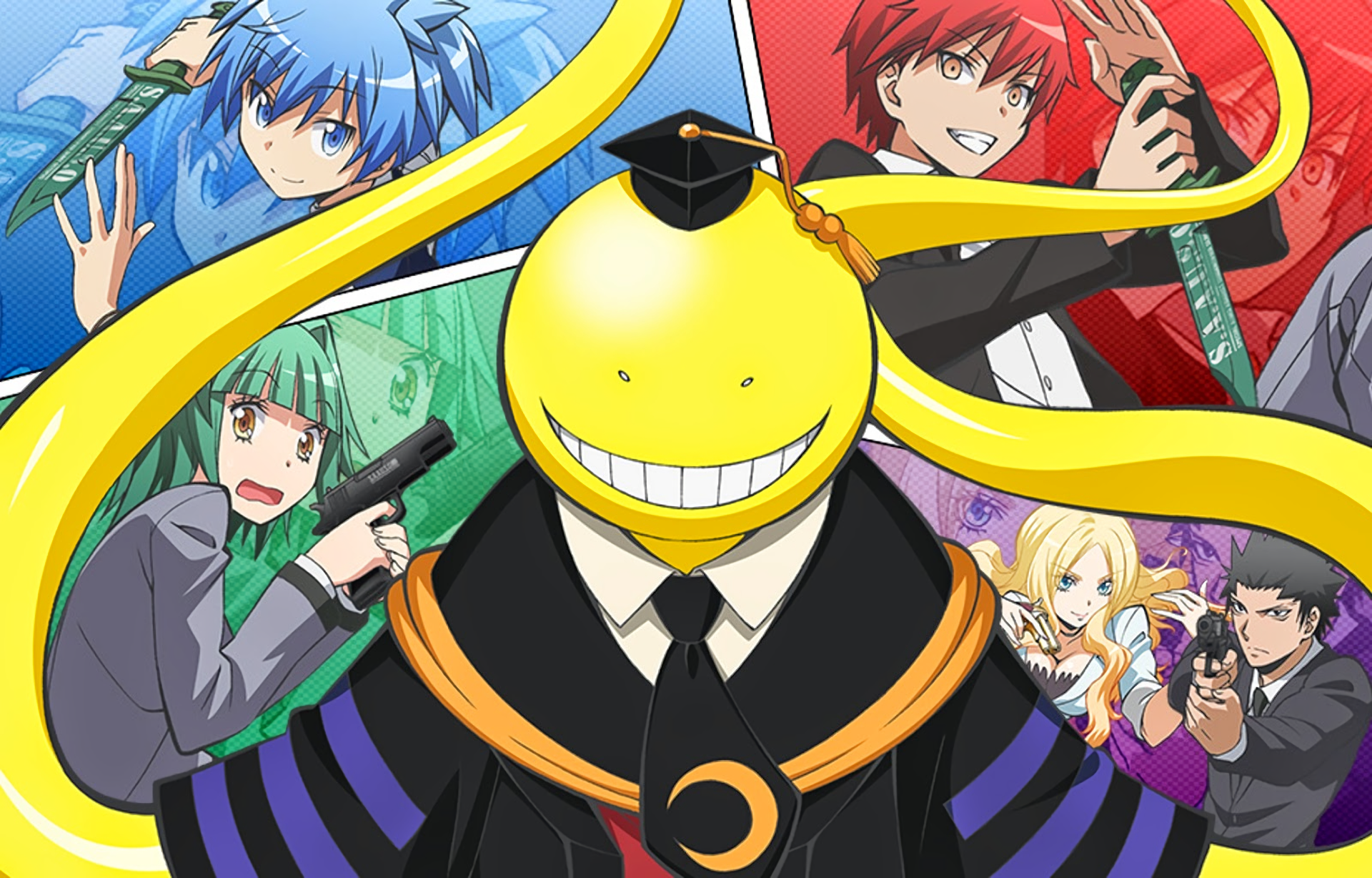 114 Assassination Classroom Hd Wallpapers Background Images
