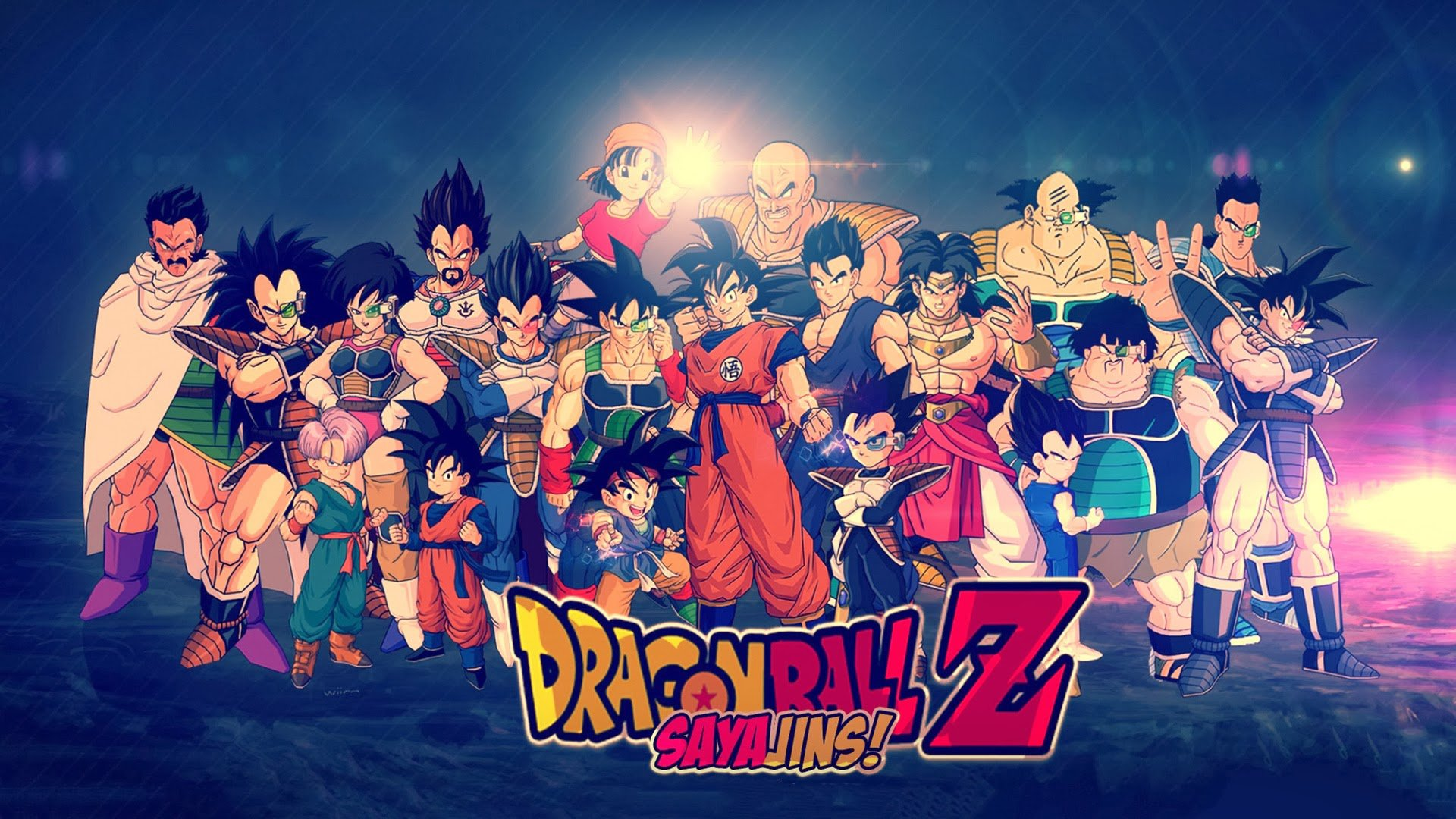 Dragon Ball Z Sayajins HD Wallpaper