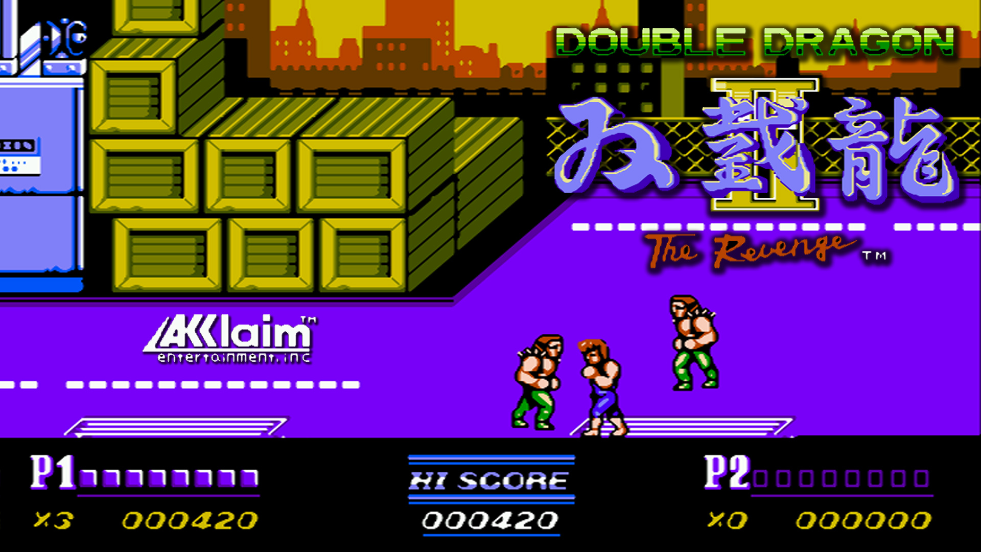 Double Dragon Ii The Revenge Fondo De Pantalla Hd Fondo