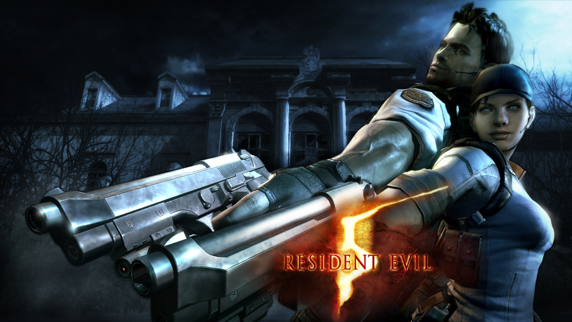 Resident Evil 5 Hd Wallpaper Background Image 1920x1080 Id