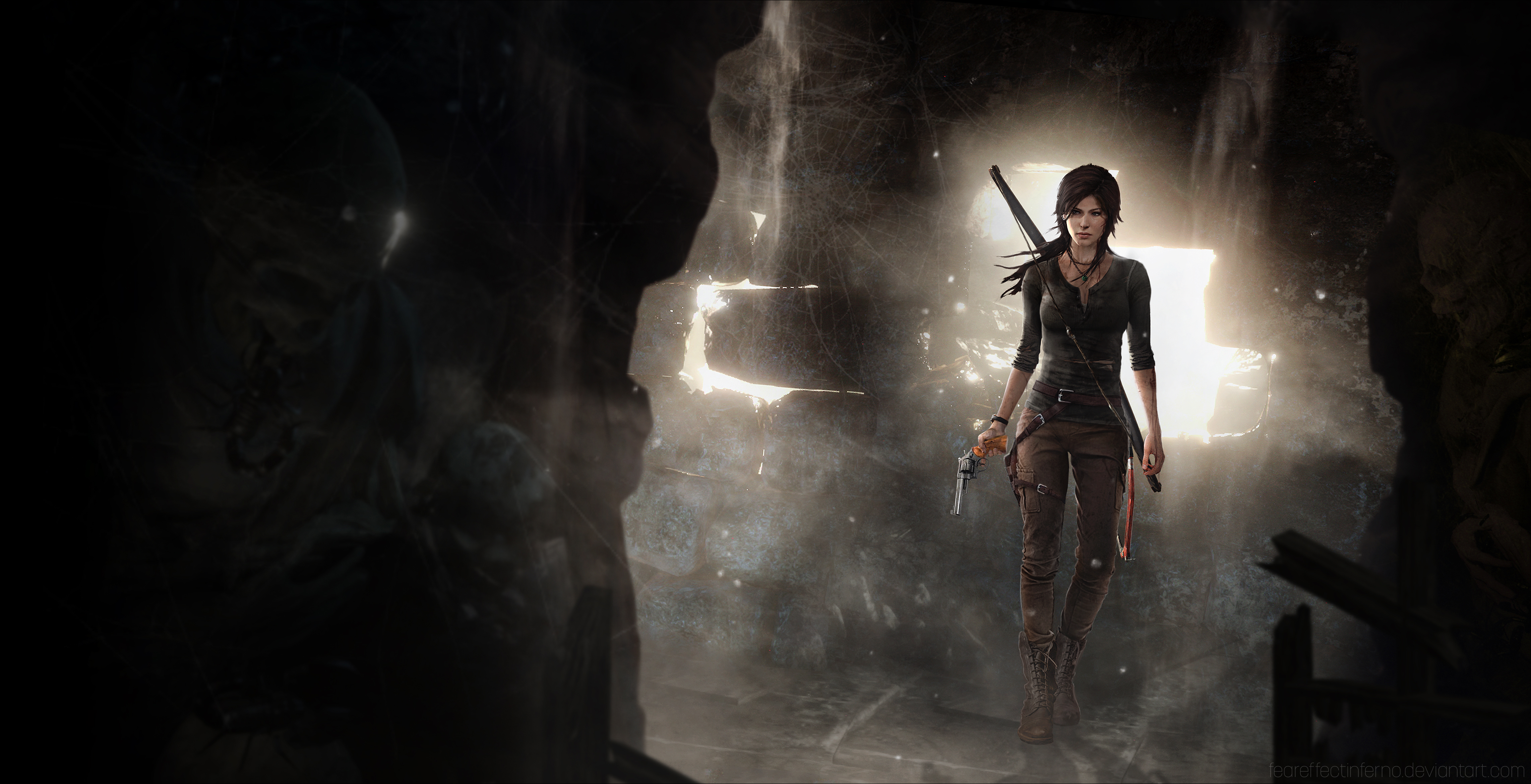 Tomb Raider 2013 4k Ultra Hd Wallpaper Background Image 4568x2340 Id 606954 Wallpaper Abyss