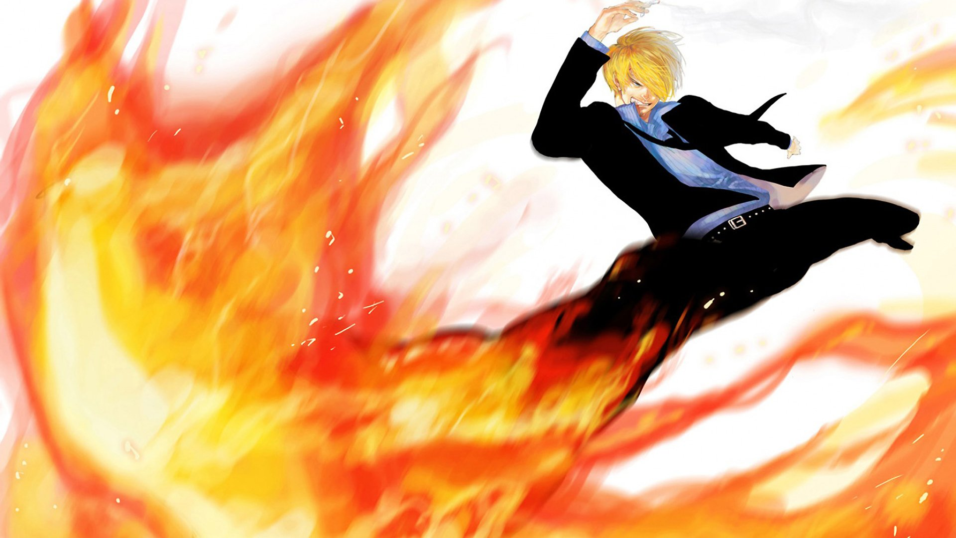 Sanji Full HD Wallpaper And Background Image