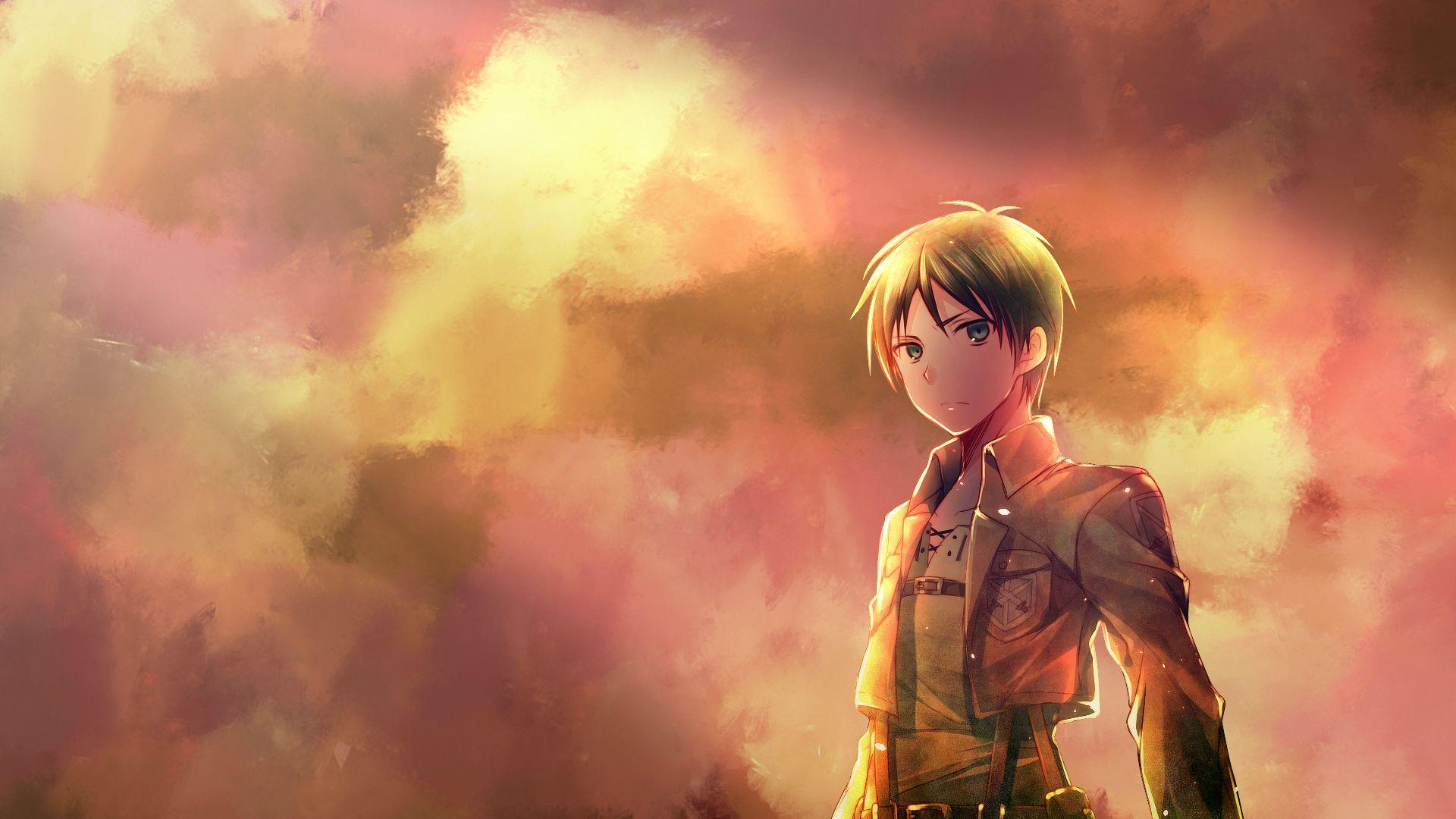 Shingeki No Kyojin Eren Jager Hd Wallpaper Background Image 1920x1080 Id 607896 Wallpaper Abyss