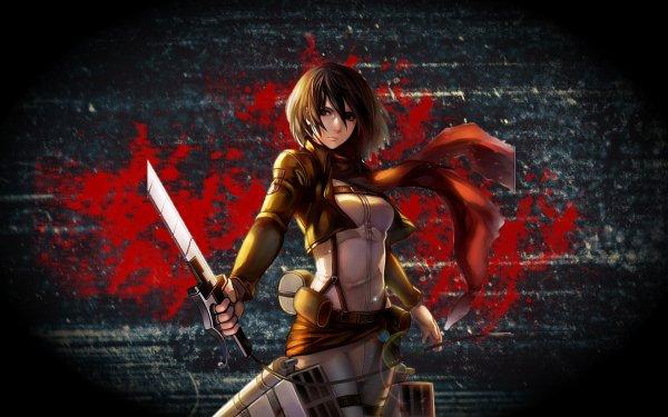 Anime Attack On Titan Shingeki No Kyojin Mikasa Ackerman HD Wallpaper   Background Image