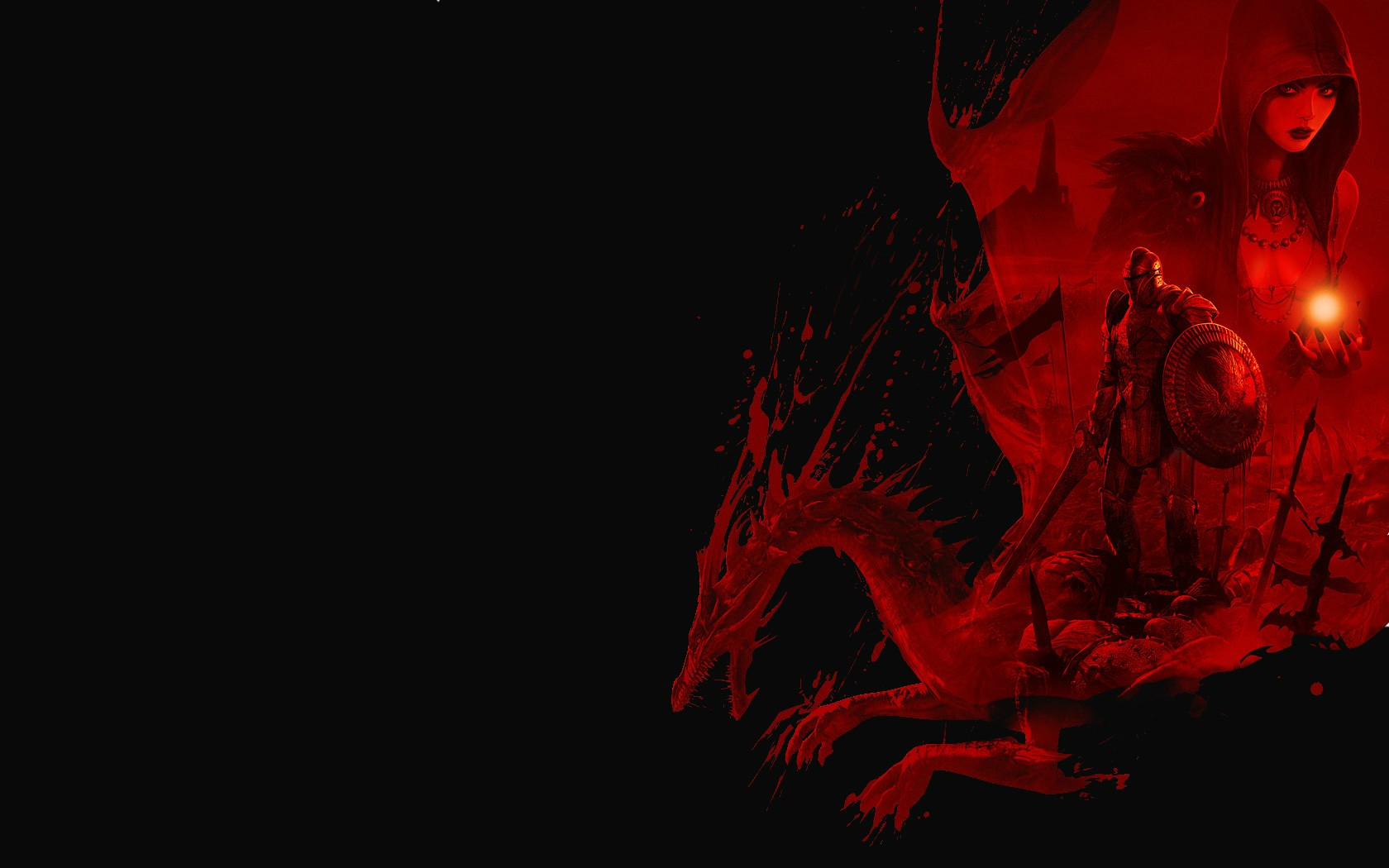 dragon age: origins wallpaper and background image | 1680x1050 | id