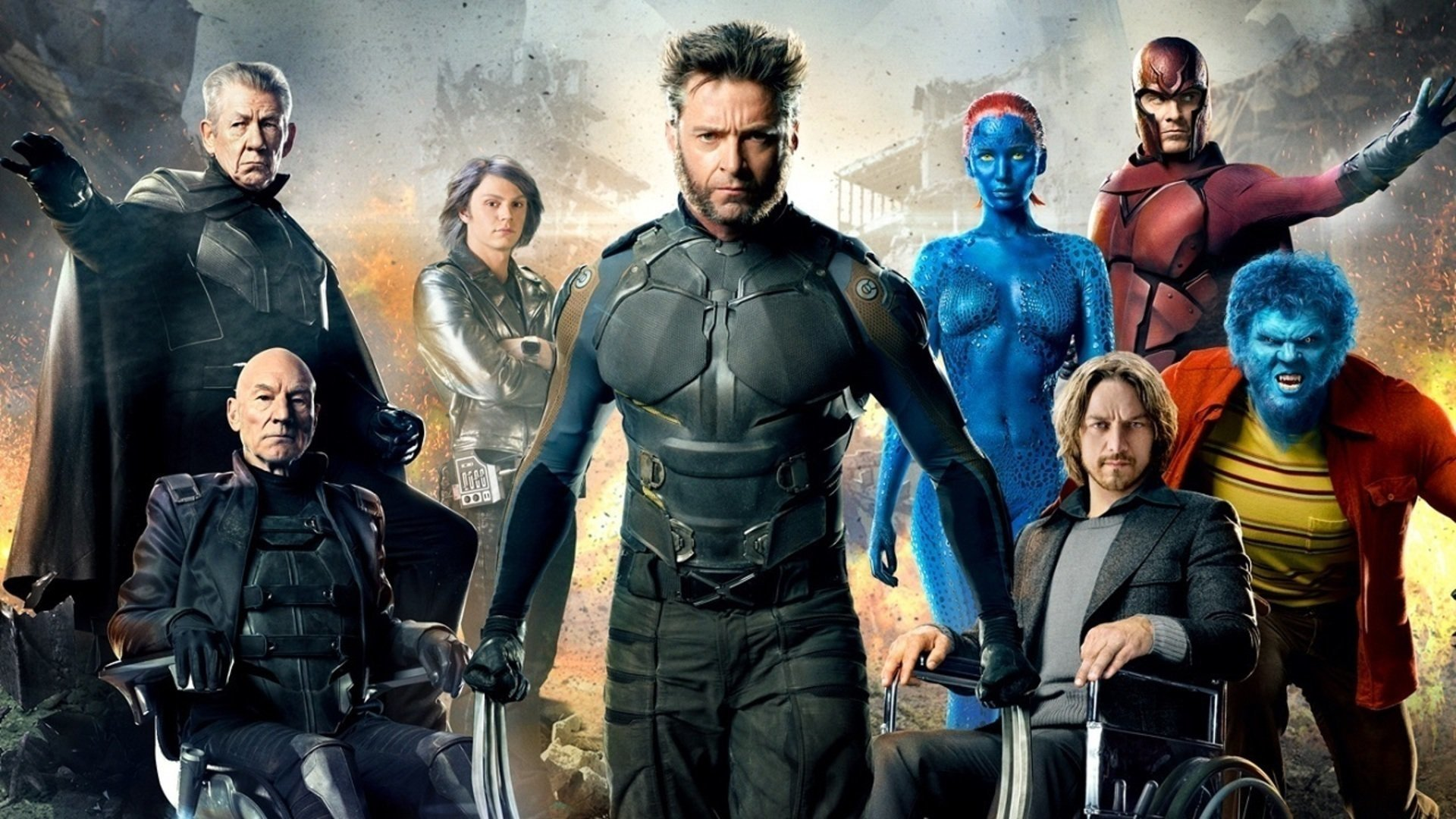 X Men Days Of Future Past Wallpaper: X-Men: Days Of Future Past Full HD Wallpaper And