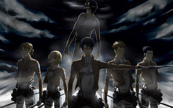 Anime Attack On Titan Eld Jinn Gunther Schultz Oluo Bozado Levi Ackerman Petra Ral HD Wallpaper | Hintergrund