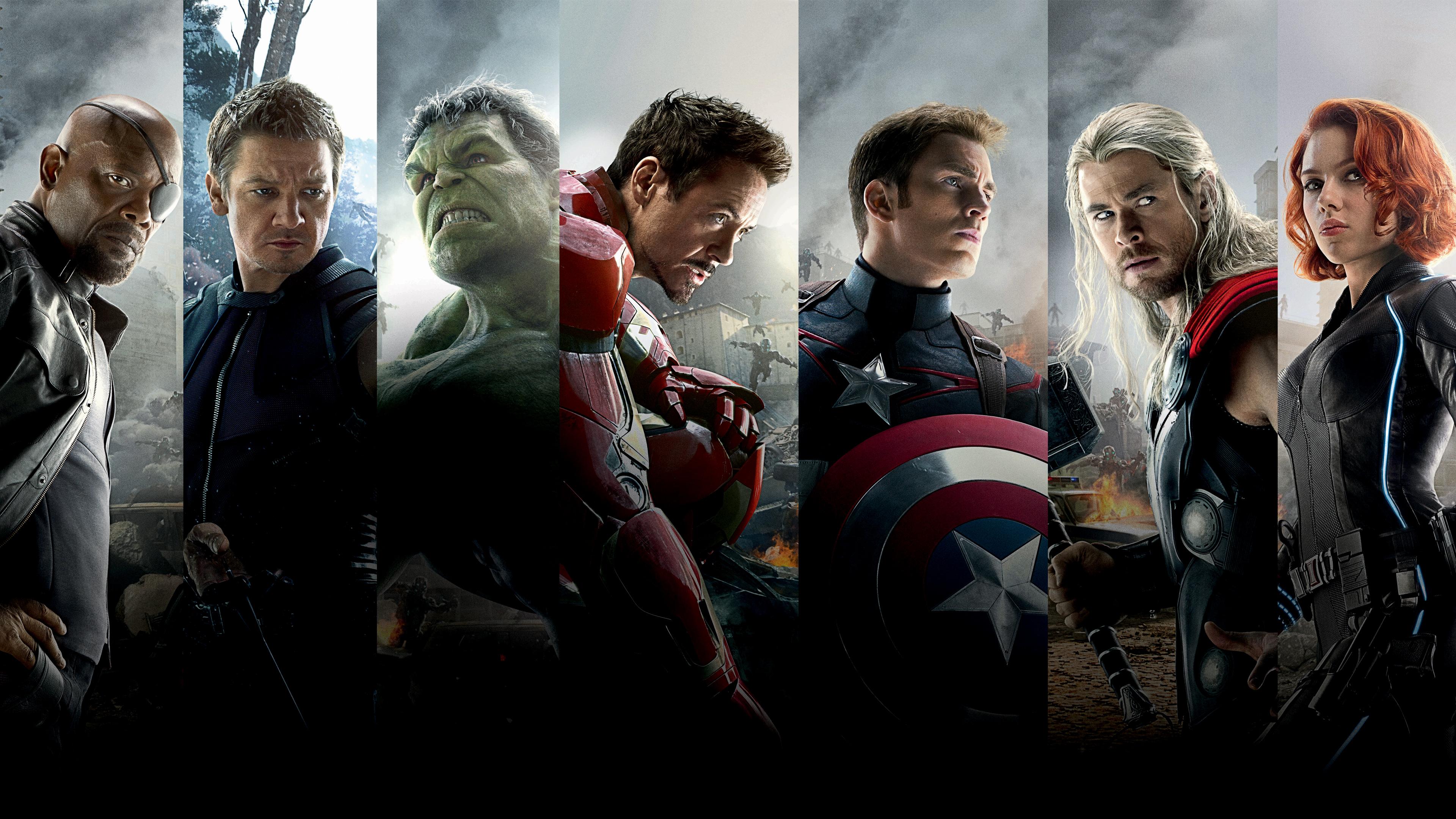 Avengers L ère D Ultron 4k Ultra Fond D écran Hd Arrière