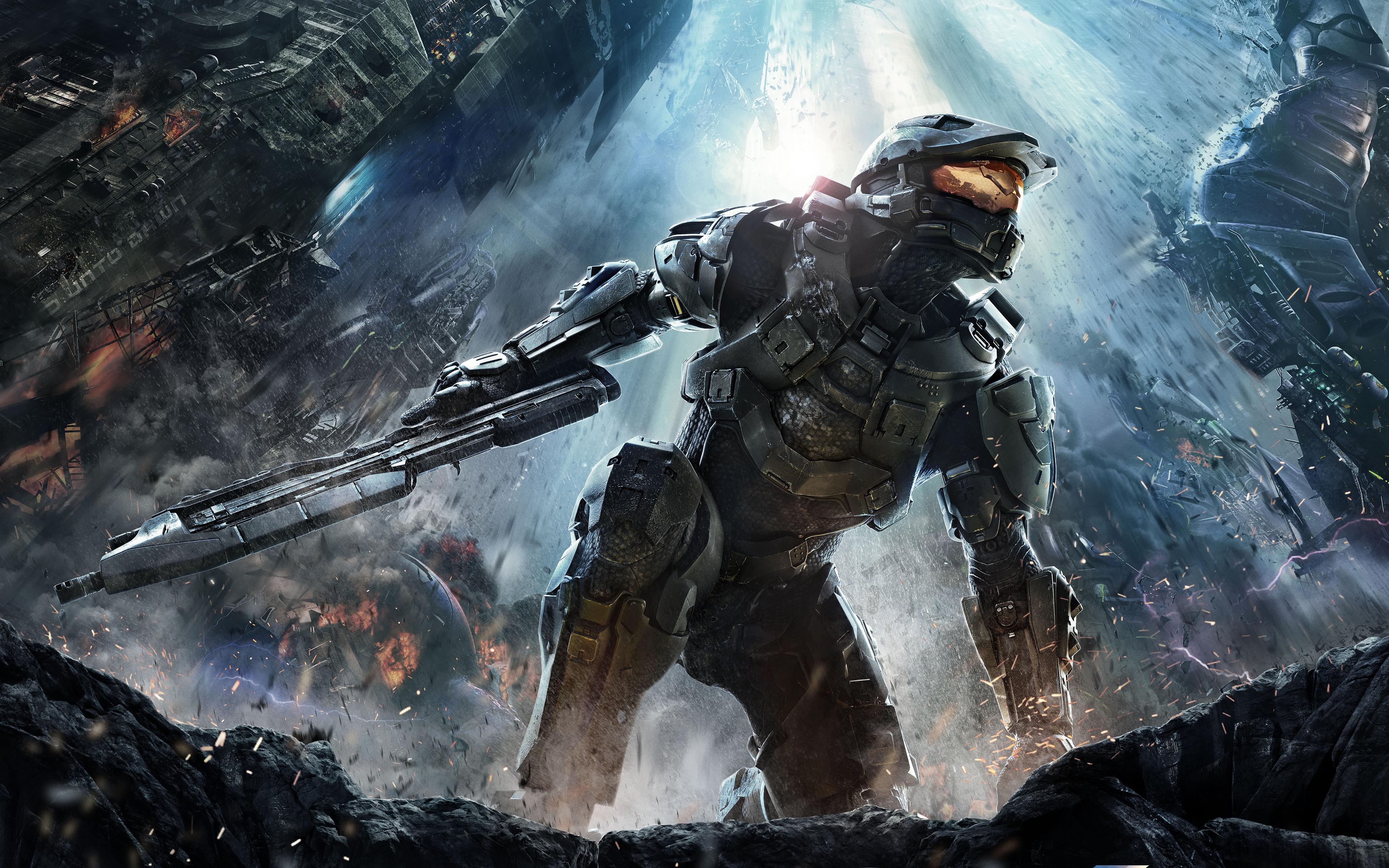 Halo 4 4k Ultra Hd Wallpaper Background Image 4200x2625 Id