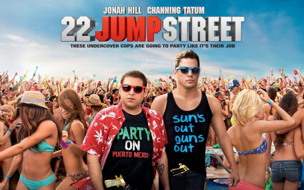 Movie 22 Jump Street Jonah Hill Channing Tatum HD Wallpaper | Background Image