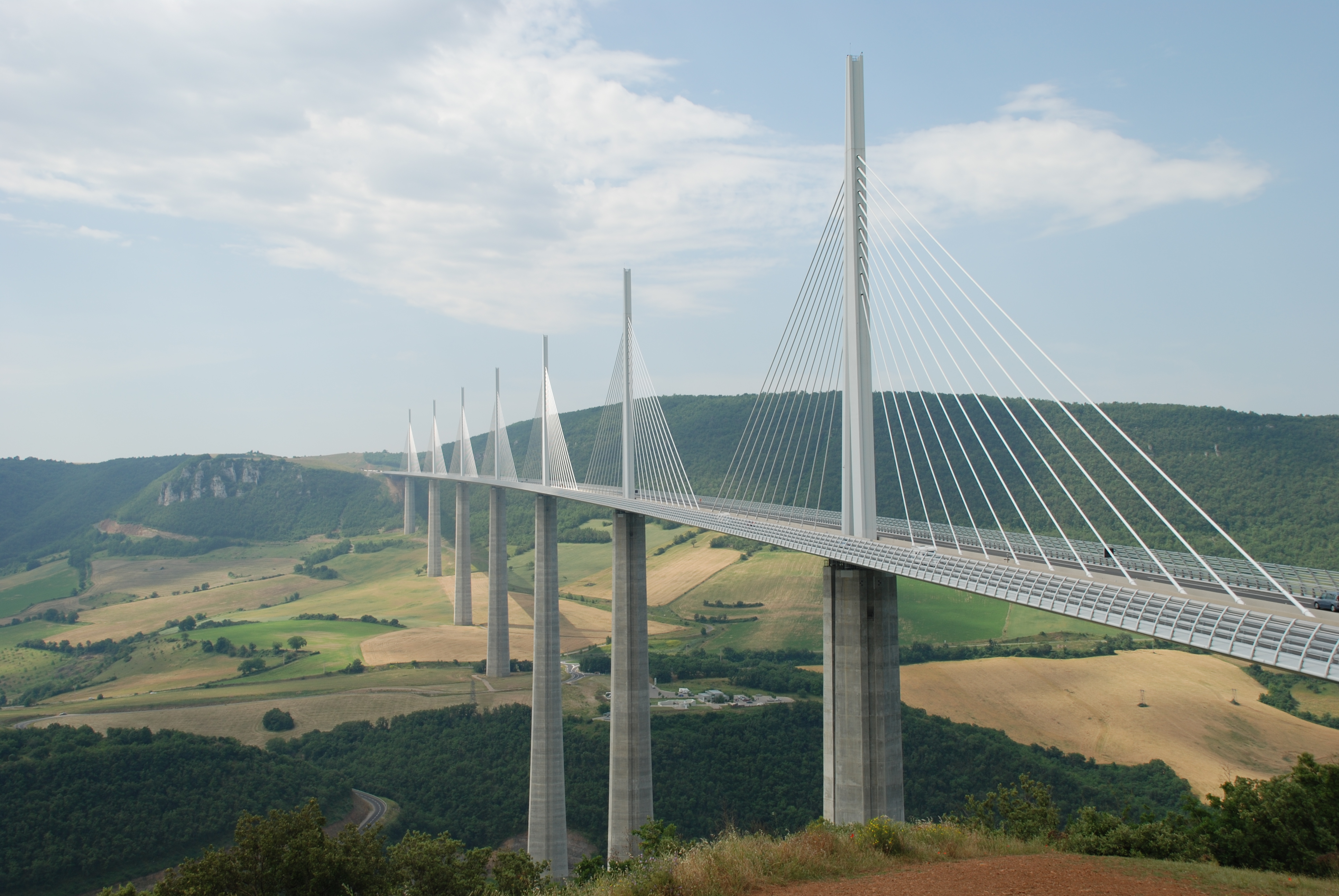 Millau Viaduct 4k Ultra HD Wallpaper and Background Image ... |Millau Viaduct Hd