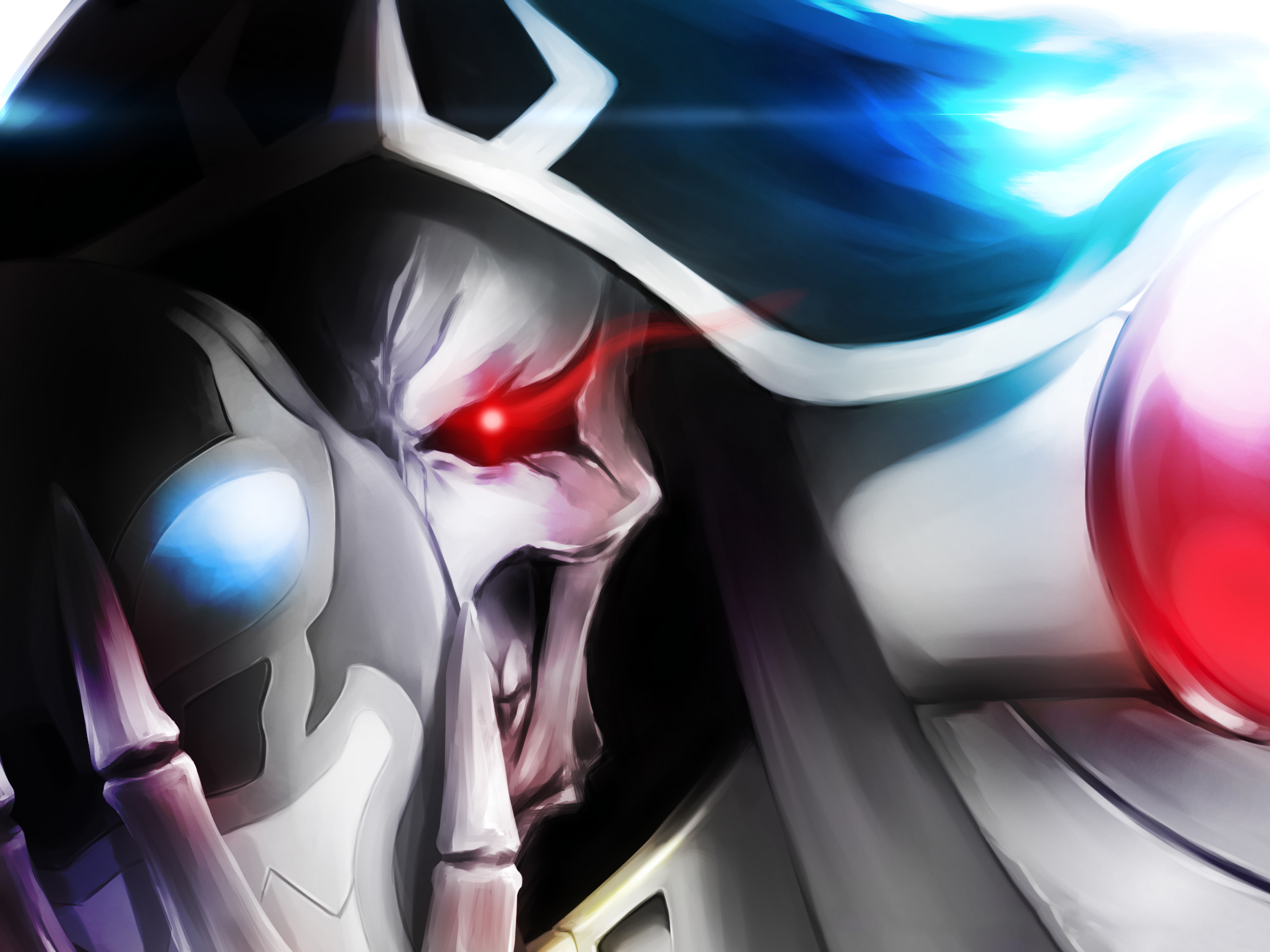 Ainz Ooal Gown Momonga 4k Ultra Hd Wallpaper Background Image 4000x3000 Id 626751 Wallpaper Abyss