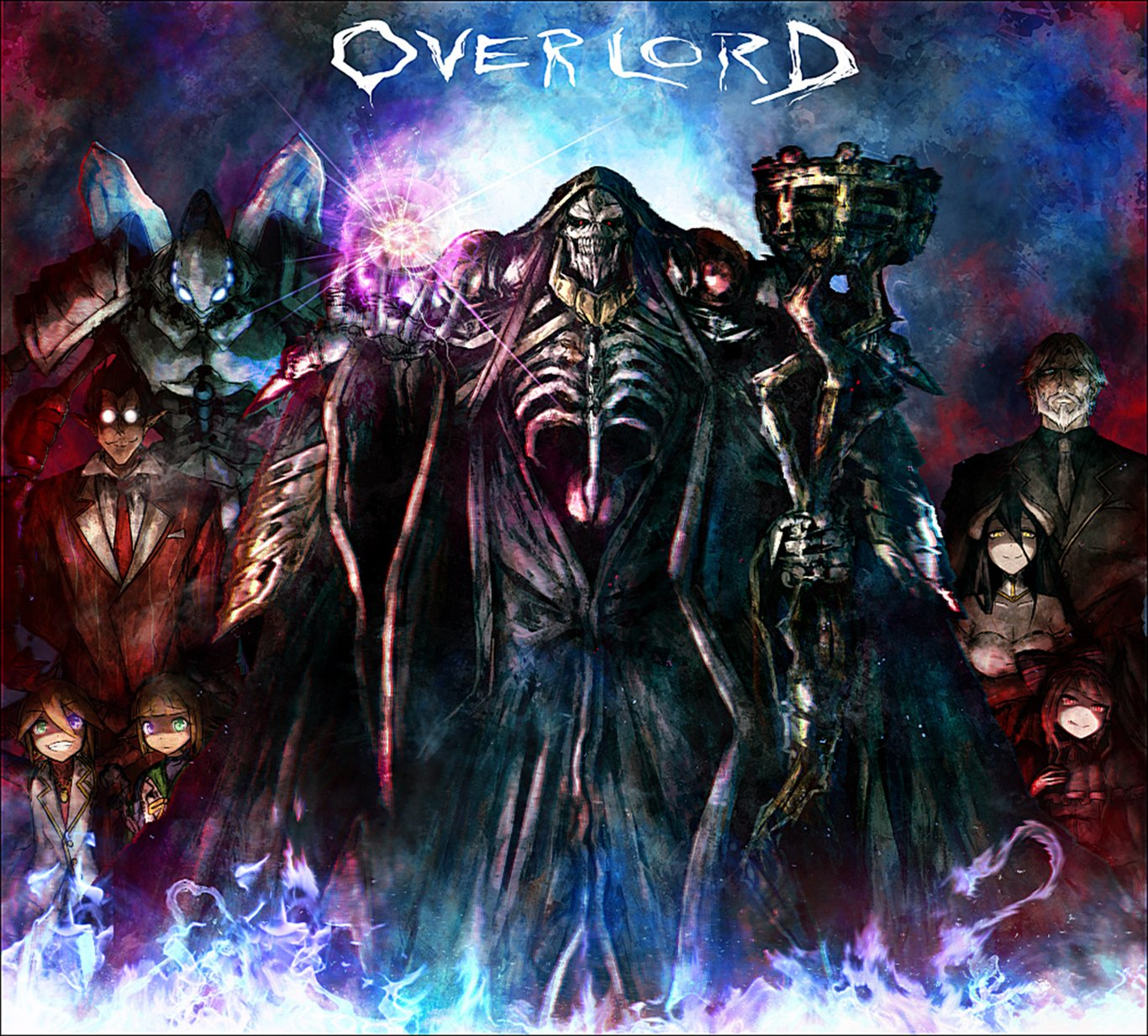 115 Albedo Overlord Hd Wallpapers Background Images Wallpaper Abyss