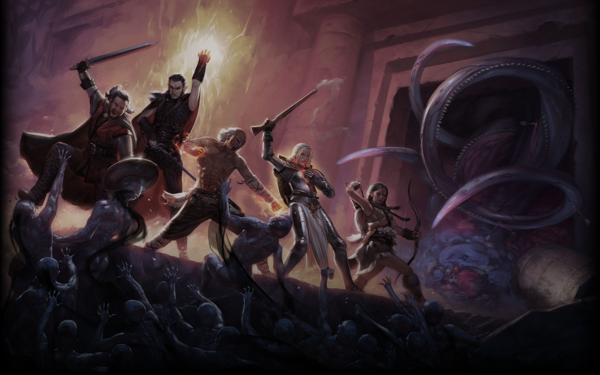Pillars Of Eternity Wallpaper: Pillars Of Eternity HD Wallpaper