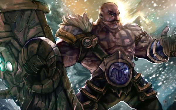 Video Game League Of Legends Braum HD Wallpaper   Background Image