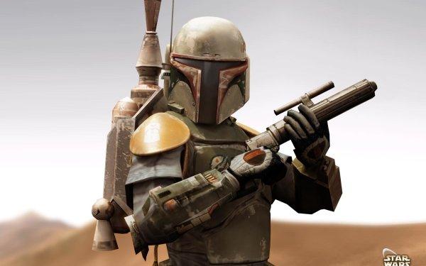 Video Game Star Wars Galaxies Star Wars Boba Fett HD Wallpaper | Background Image