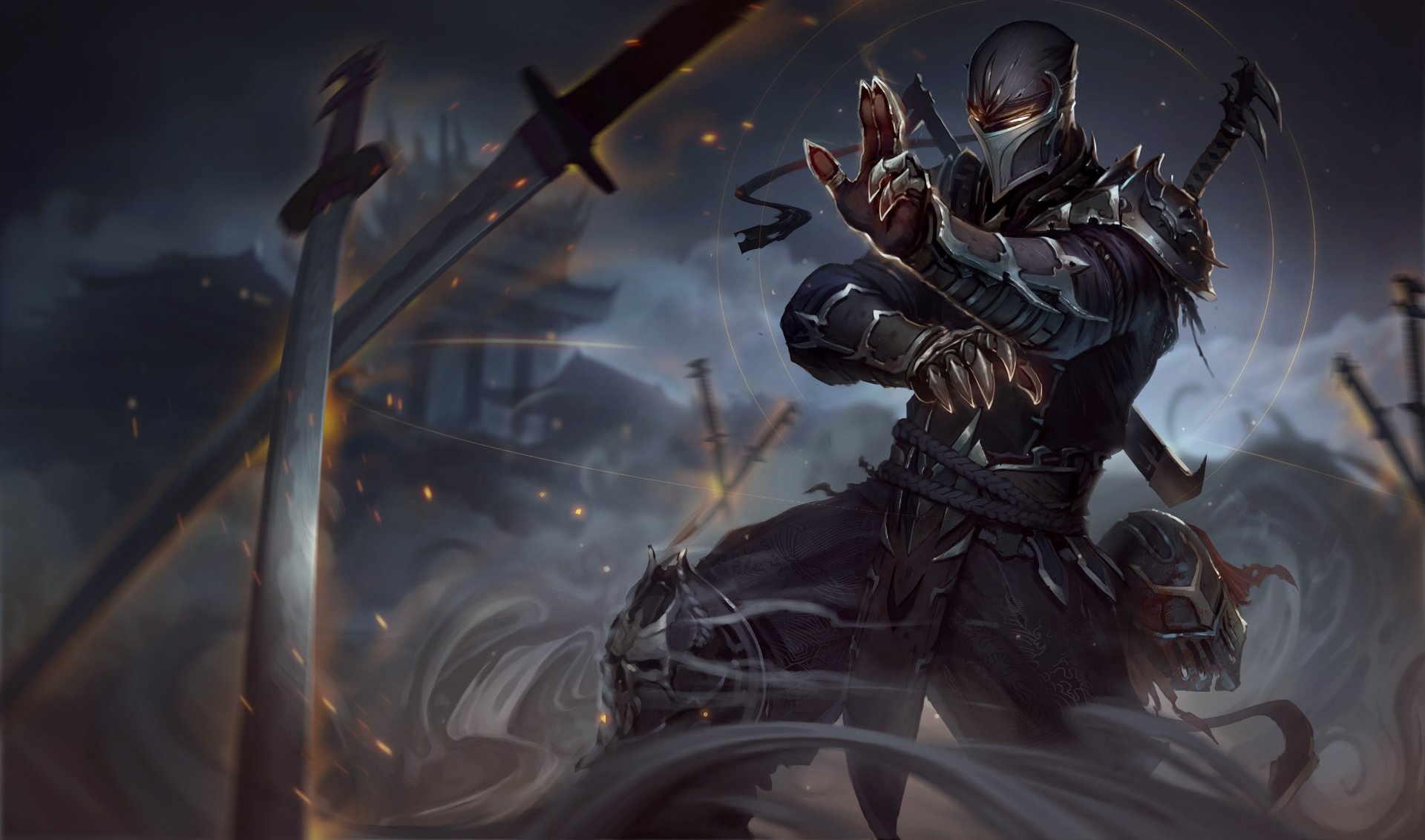 Video Game - League Of Legends  Shen (League Of Legends) Wallpaper