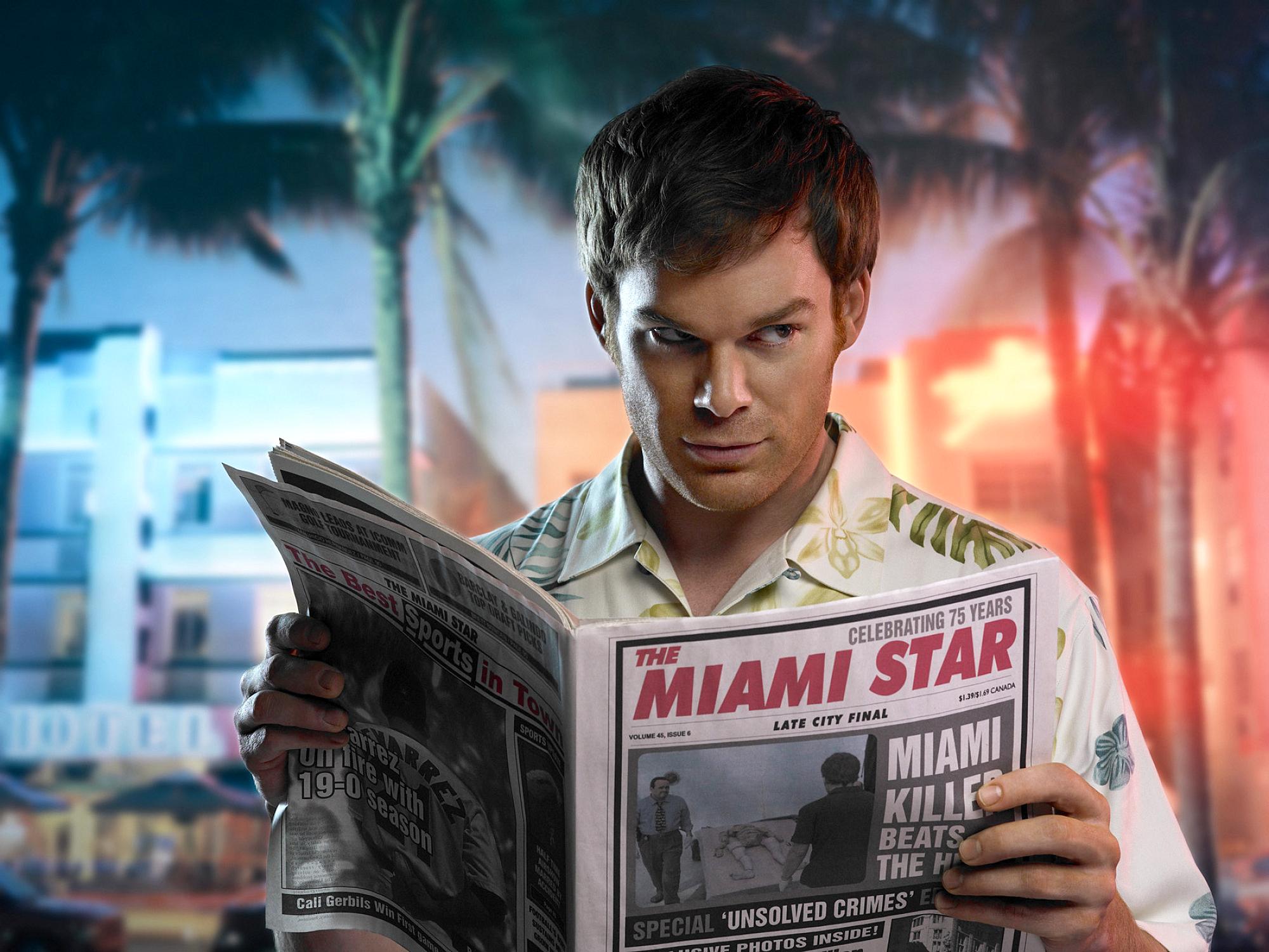 Televisieprogramma - Dexter  Michael C. Hall Dexter Morgan Wallpaper