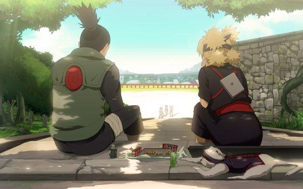 Anime Naruto Shikamaru Nara Temari Konohamaru Sarutobi Udon Moegi Kazamatsuri HD Wallpaper | Background Image
