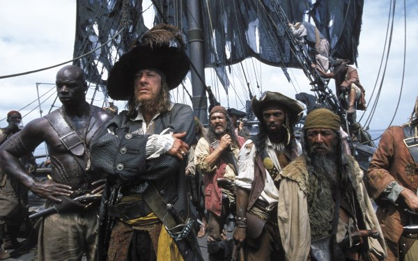 Movie Pirates Of The Caribbean: The Curse Of The Black Pearl Pirates Of The Caribbean Geoffrey Rush Hector Barbossa HD Wallpaper   Background Image