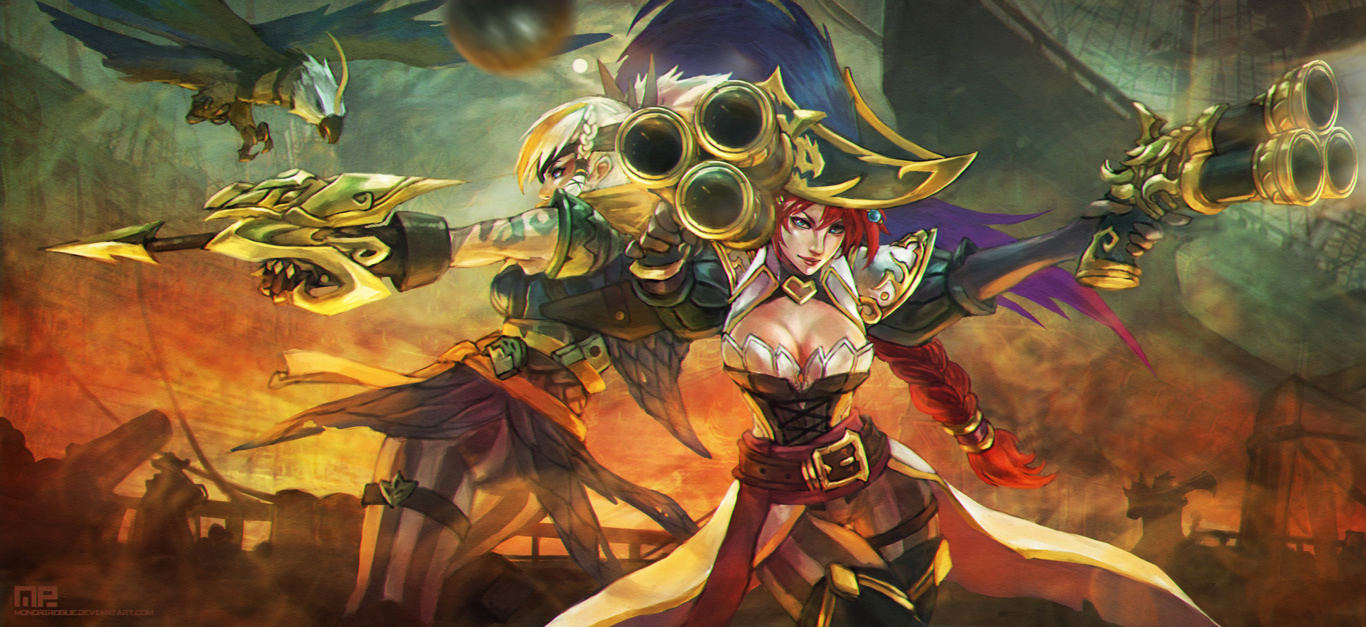 League Of Legends Miss Fortune Wallpaper: League Of Legends 4k Ultra HD Wallpaper