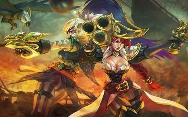 Video Game League Of Legends Miss Fortune Quinn HD Wallpaper | Background Image