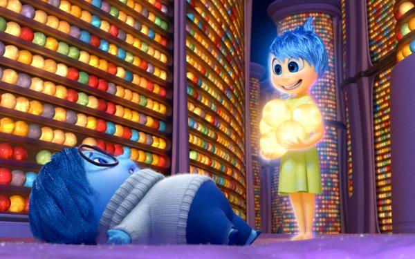 Movie Inside Out Sadness Joy HD Wallpaper | Background Image