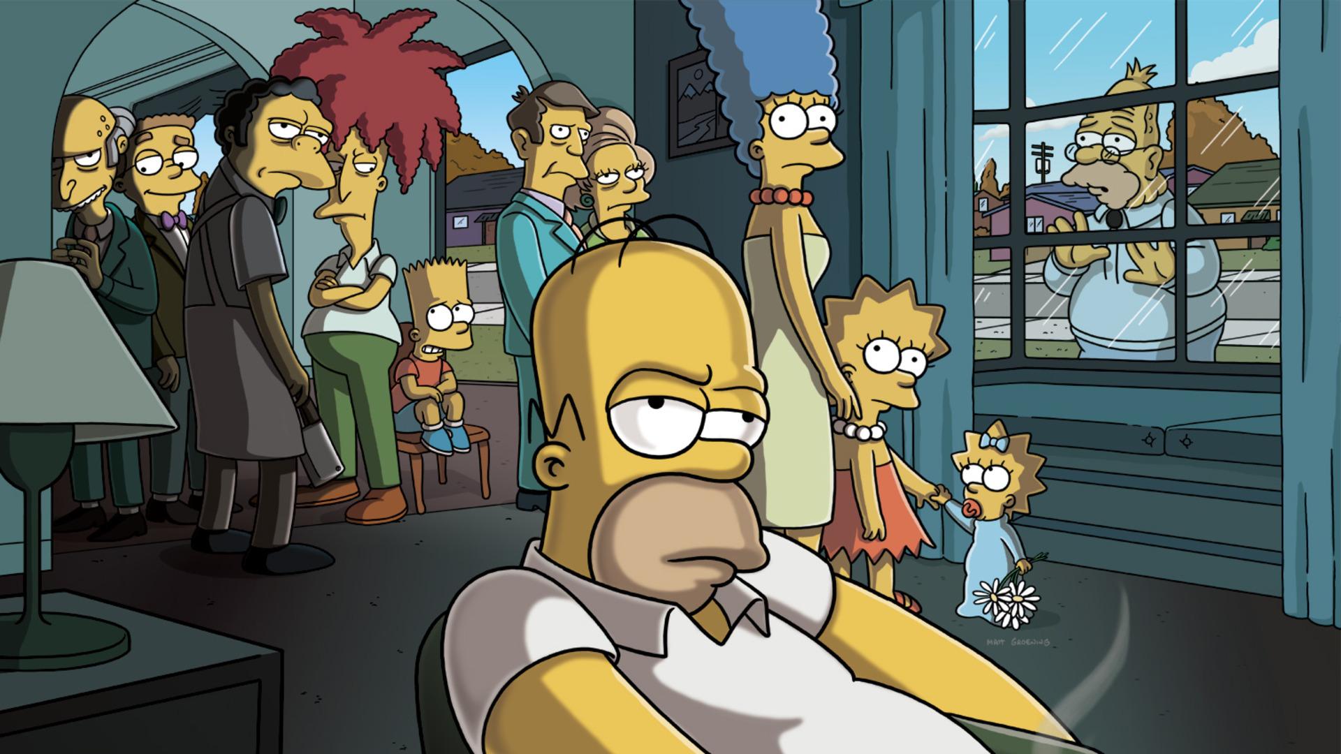 Os Simpsons Papel de Parede HD   Plano de Fundo