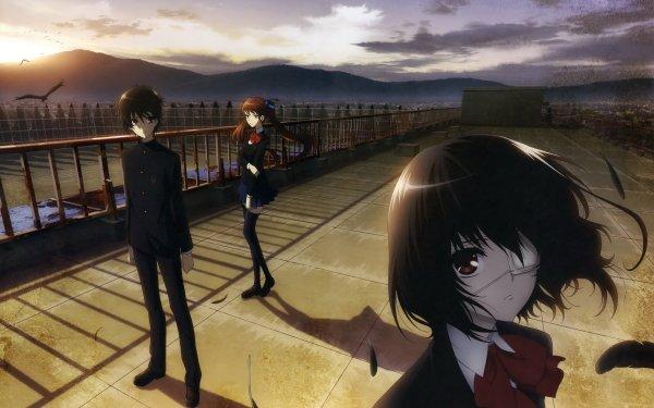 Anime Another Mei Misaki Kouichi Sakakibara Izumi Akazawa HD Wallpaper | Background Image