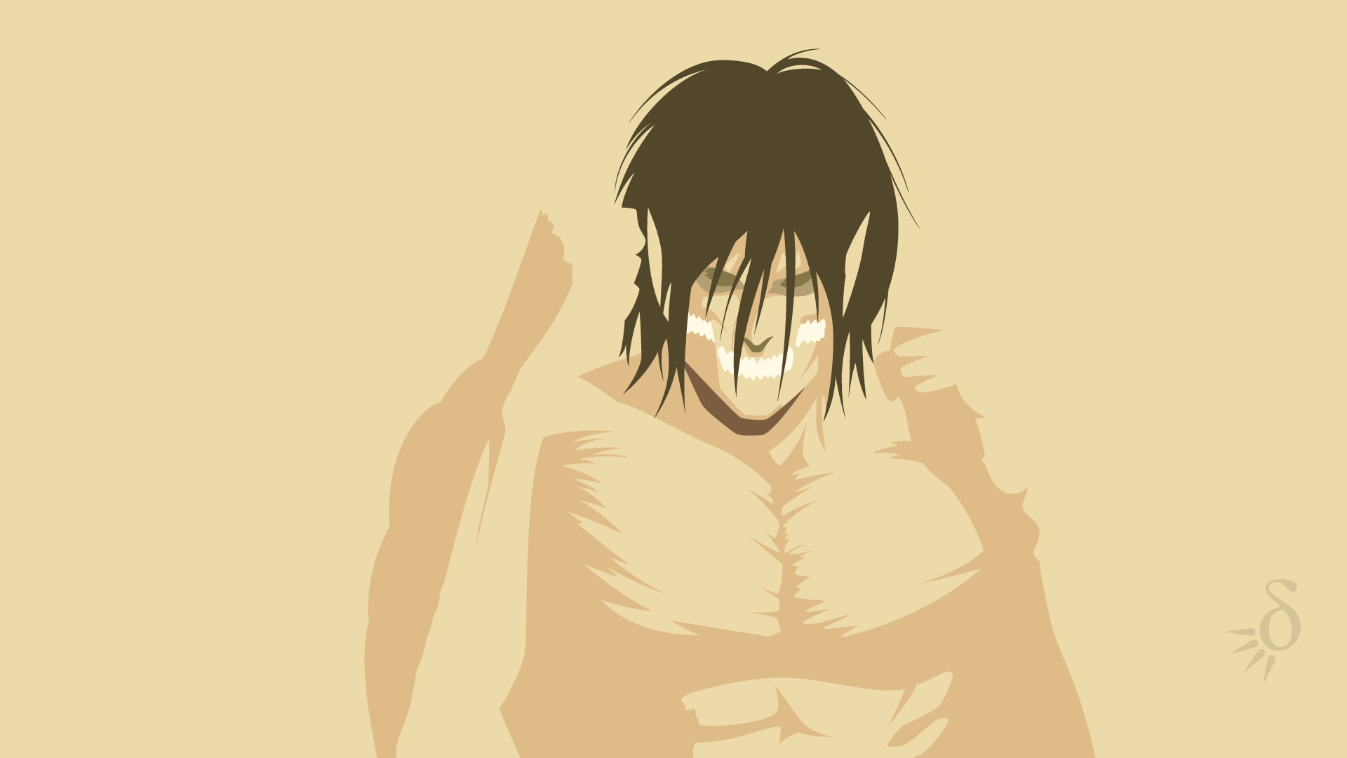 Eren Yeager Titan Hd Wallpaper Background Image 1920x1080 Id 640527 Wallpaper Abyss