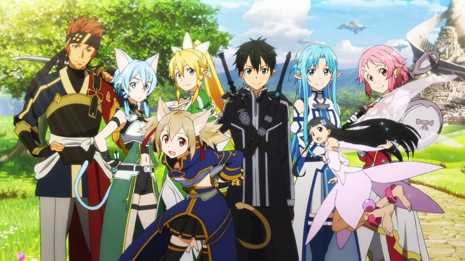 Sword Art Online II Full HD Wallpaper And Background Image