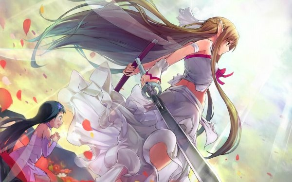 Anime Sword Art Online Asuna Yuuki Yui HD Wallpaper | Hintergrund