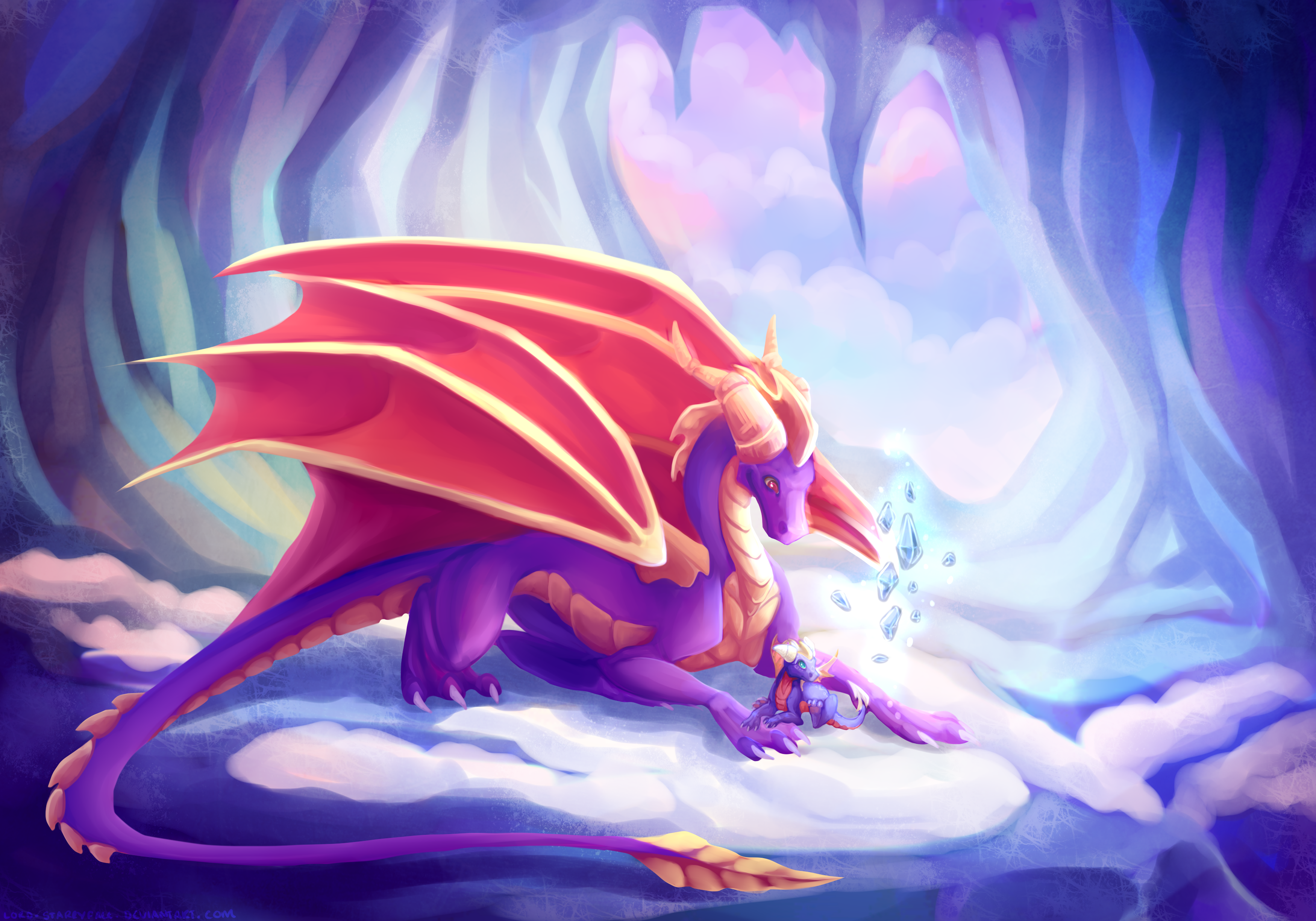 78 Spyro The Dragon Hd Wallpapers Background Images Wallpaper