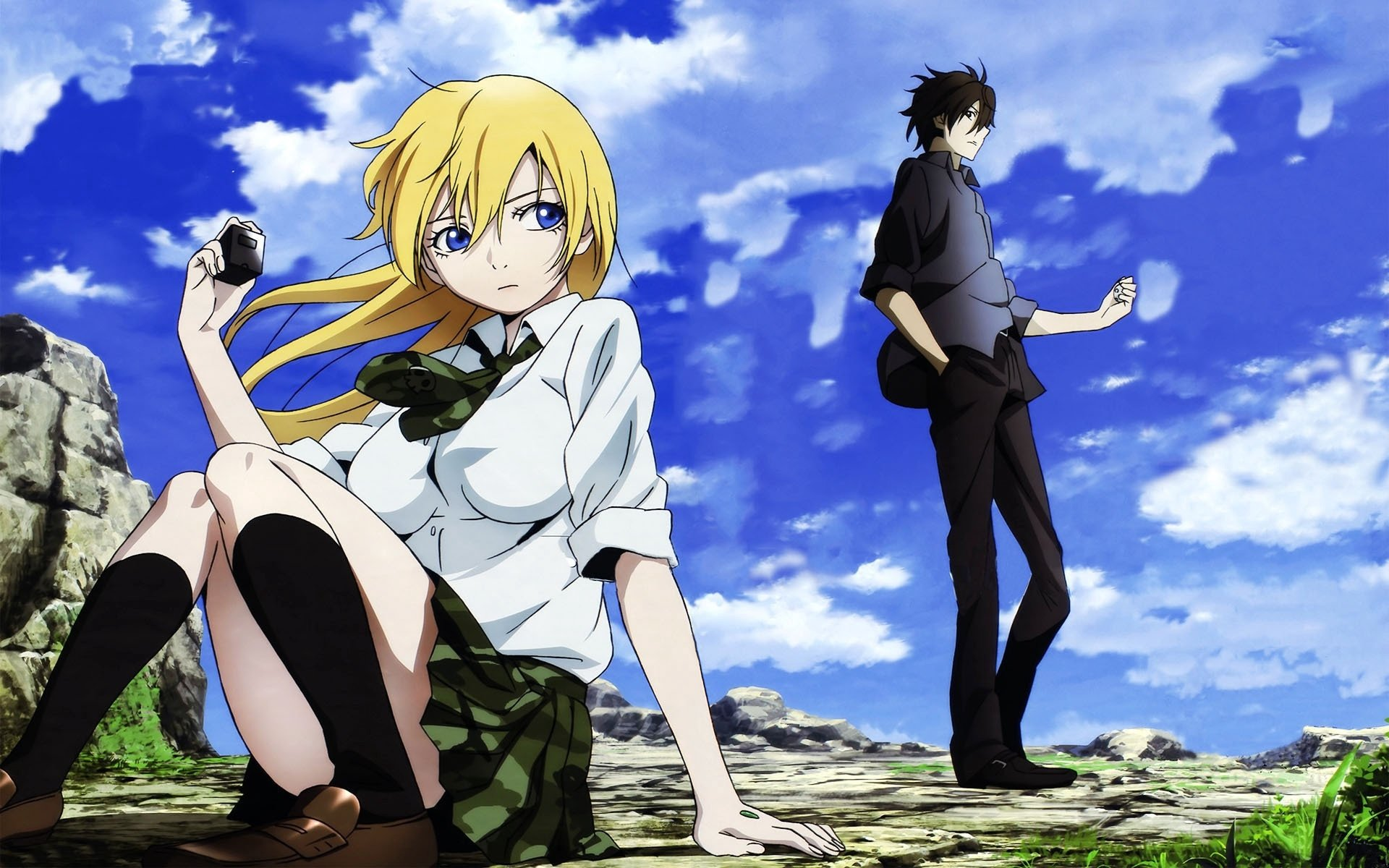 Anime Wallpapers Btooom! HD 4K Download For Mobile iPhone & PC