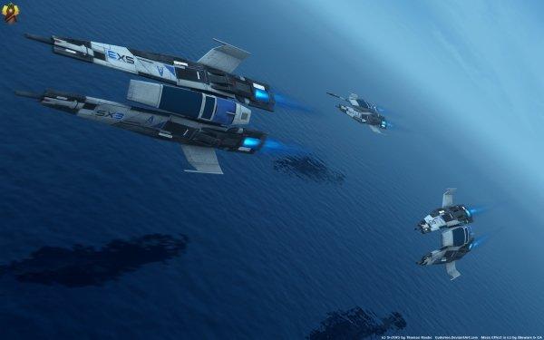 Video Game Mass Effect Starfighter HD Wallpaper   Background Image