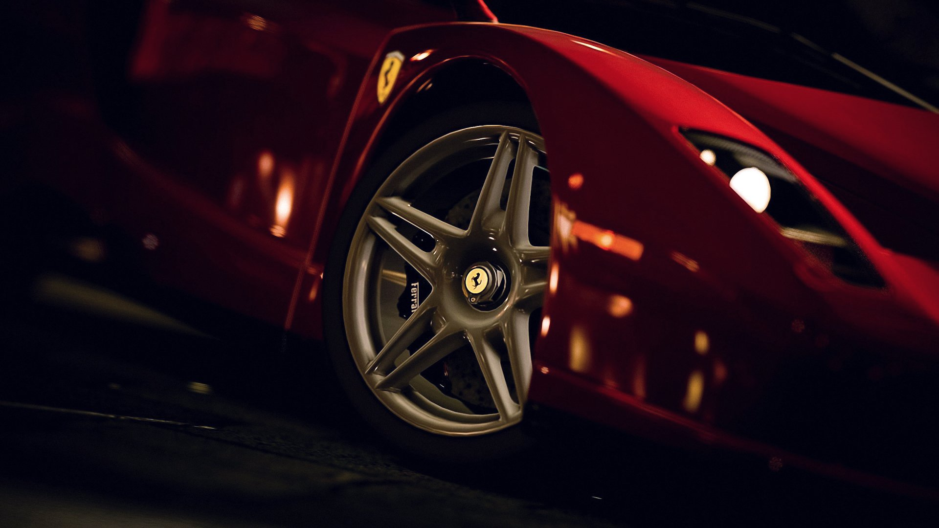 Vehicles - Ferrari  Vehicle Wallpaper