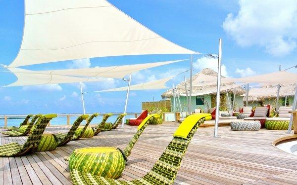 Photography Holiday Maldives Resort HD Wallpaper   Background Image