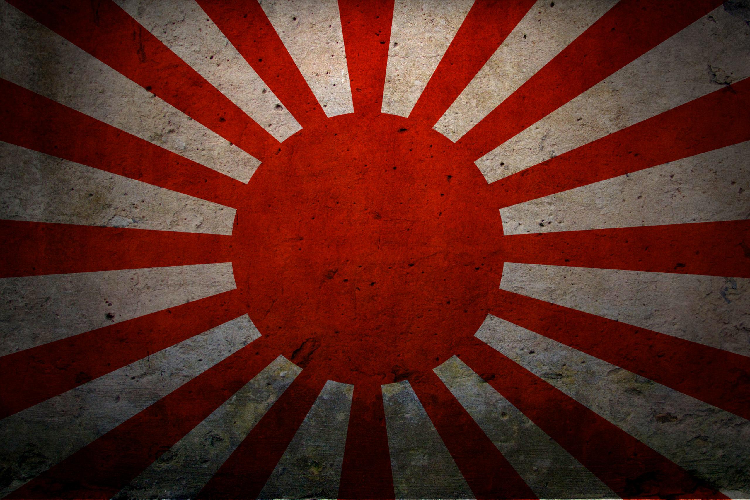 обои для рабочего стола флаг японии № 630454 загрузить