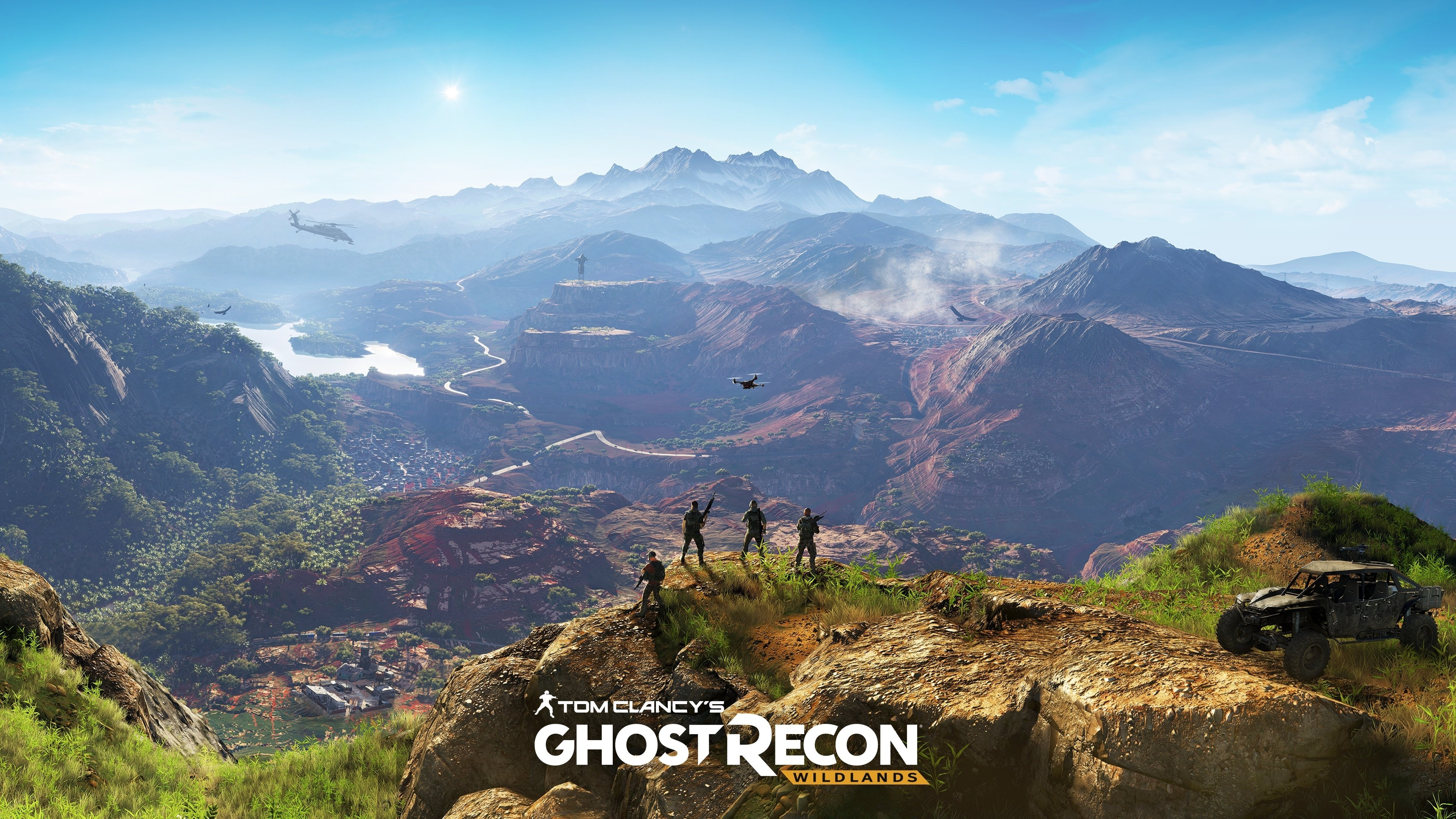 82 Tom Clancy S Ghost Recon Wildlands Hd Wallpapers Background